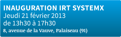 INAUGURATION IRT SystemX