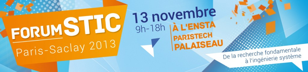 Bannière Forum STIC Paris-Saclay