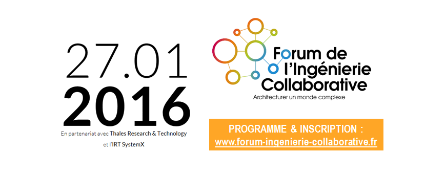 1ère édition du Forum de l'Ingénierie Collaborative