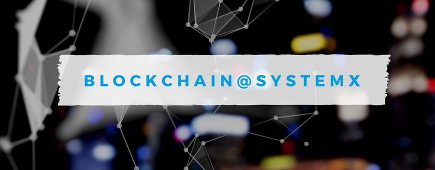 Blockchain@SystemX