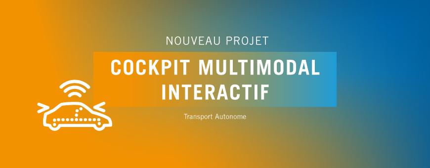 SystemX lance le projet Cockpit Multimodal Interactif (CMI)