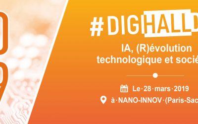 DigiHall Day 2019 : IA, (r)évolution technologique et sociétale