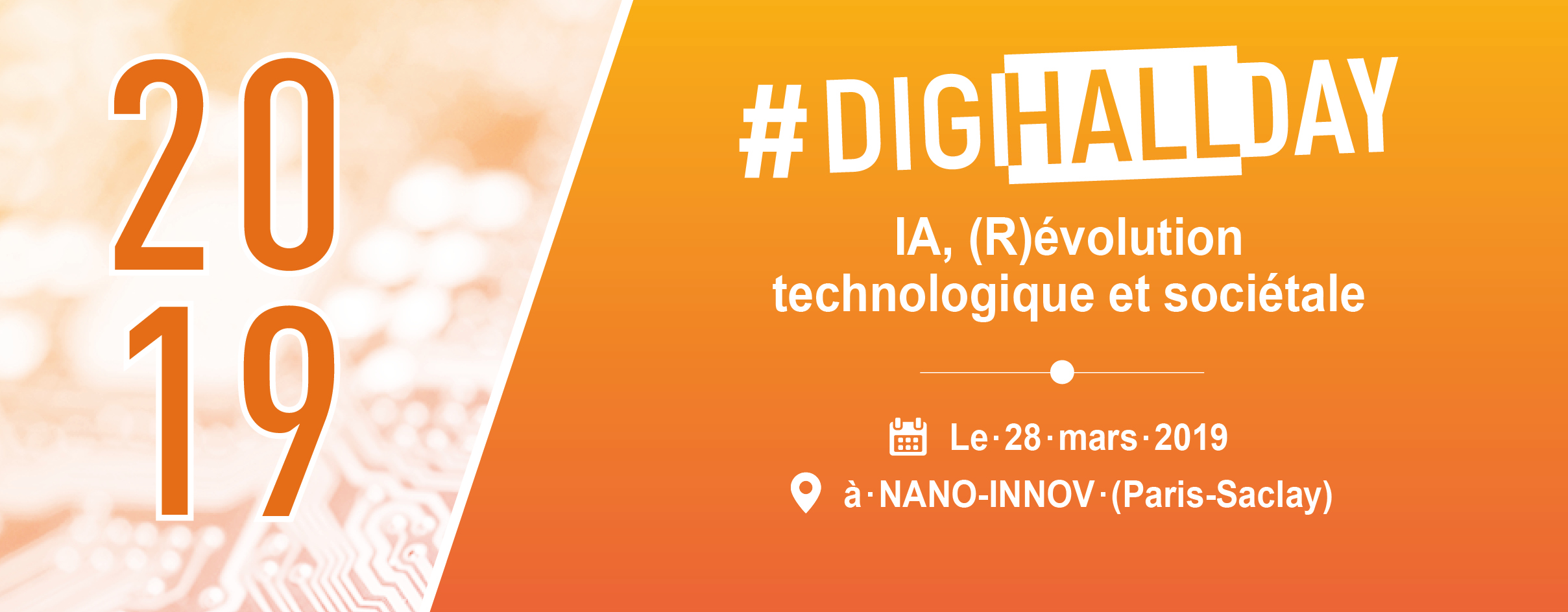 DigiHall Day 2019: IA, a technological and societal (r)evolution