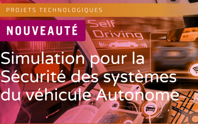 SystemX launches the project « 3SA, Simulation for the Safety of Autonomous Vehicle Systems »