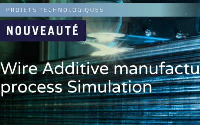 Fabrication additive : SystemX lance le projet WAS